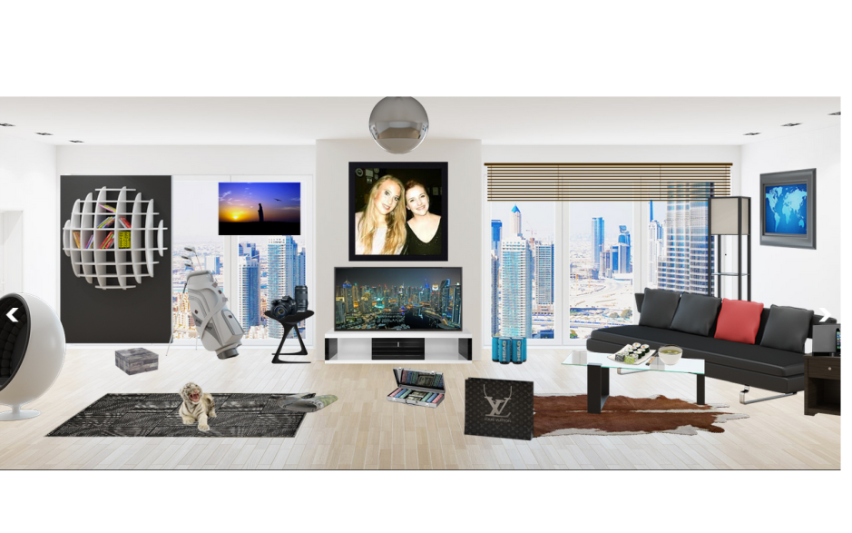 myWebRoom's Dubai Virtual Room
